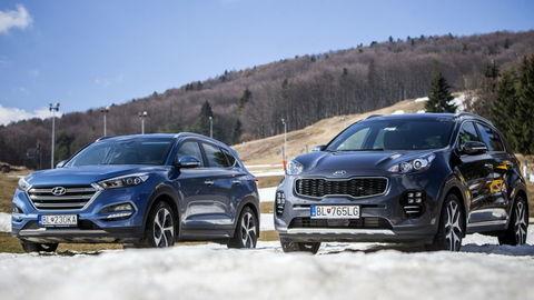 Hyundai Tucson vs Kia Sportage: Hľadáme rozdiely medzi súrodencami