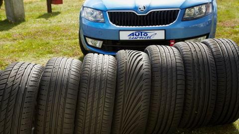 Porovnávali sme prémiové a cenovo výhodnejšie letné pneumatiky rozmeru 225/45 R17