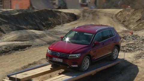 Test: Volkswagen Tiguan v teréne