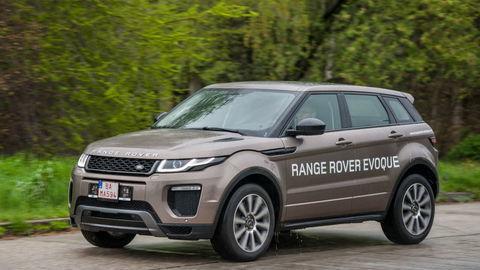 Range Rover Evoque: Omladená tvár, nový motor