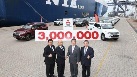 3-miliónty Mitsubishi z Thajska
