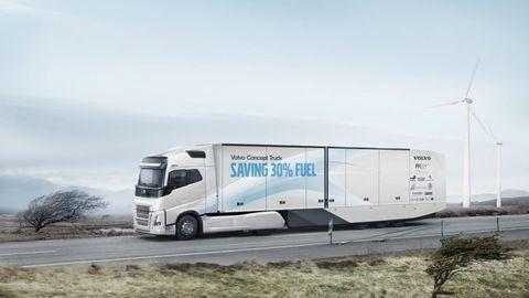 Volvo concept truck spotrebuje o tretinu menej paliva