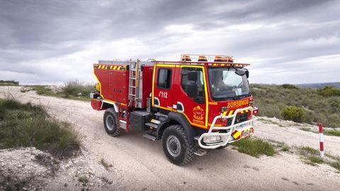 Madrid posilnil hasičov