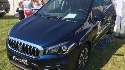 Modernizované Suzuki SX4 S-Cross odhalili pri Balatone