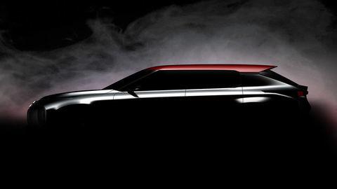 Mitsubishi predstaví vParíži koncept SUV kupé