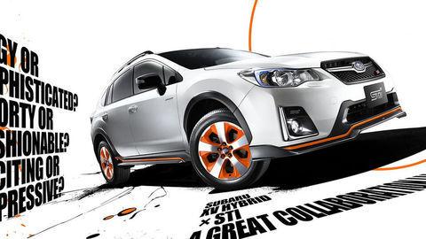 Subaru predviedlo športovo ladený hybrid