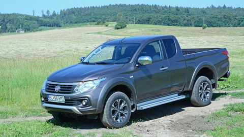 Fiat Fullback: Novic medzi off-roadmi