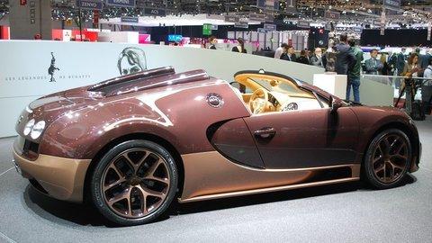 Stratový Bugatti Veyron končí