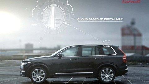 Volvo rieši autá bez vodičov