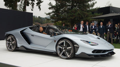 Lamborghini Centenario Spider vypredali ešte pred premiérou