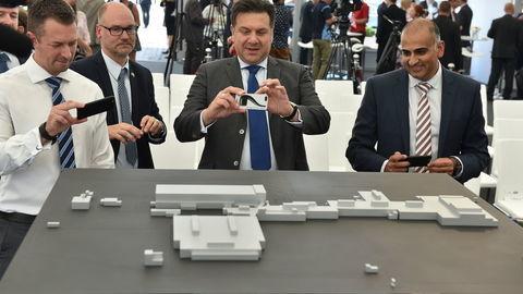 Skúšobná dráha aj rybník: V Nitre začala výstavba závodu Jaguar Land Rover