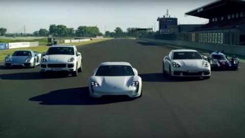 Porsche propaguje elektrinu. Reklamu nakrútili na Slovakia Ringu
