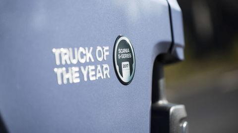 "Scania série S je ""Truck roka 2017"""