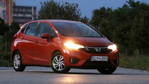 Honda Jazz: Keď sa vonku zotmie