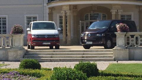 Motoring: Volkswagen Multivan sme potrápili v teréne aj teste pruženia