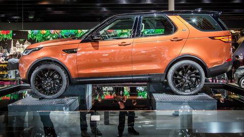 Paríž 2016: Land Rover Discovery