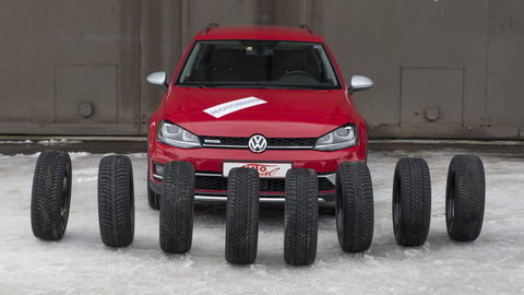 Testovali sme prémiové zimné pneumatiky pre triedu Golfa