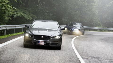 Motoring: Alfa Romeo Giulia vs Jaguar XE a Audi Q5