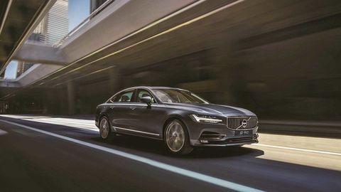 V Číne má premiéru Volvo S90 Excellence