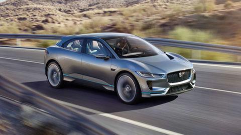 Jaguar predviedol elektrický crossover. Vyrábať ho začne na budúci rok