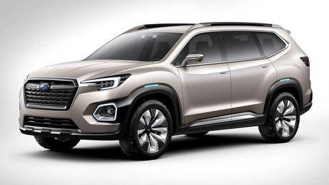 Subaru ukázalo veľké SUV pre siedmich