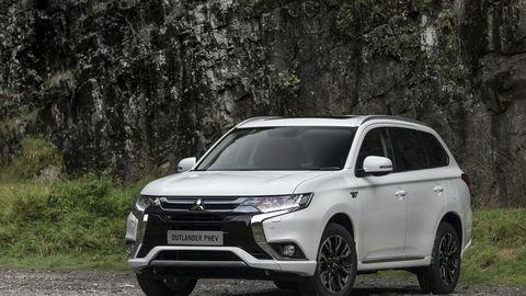 Mitsubishi Outlander PHEV: Potrebuje elektrickú zásuvku
