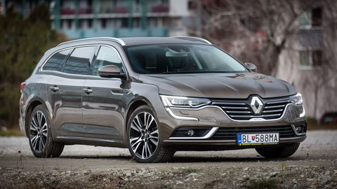 Renault Talisman Grandtour 1,6 dCi: Zvykáme si na seba