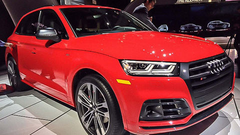 Svetová premiéra Audi SQ5 v Detroite