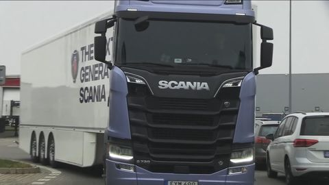 Video: Scania S730