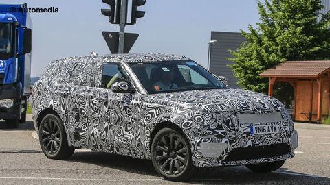 Nový Range Rover predstavia o mesiac