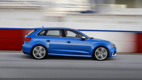Audi RS3 Sportback má päťvalec a praktickejšiu karosériu