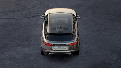 Kupé Range Rover Velar odhalia o týždeň v Londýne