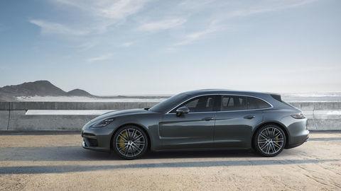 Porsche pridáva kombi Panamera Sport Turismo