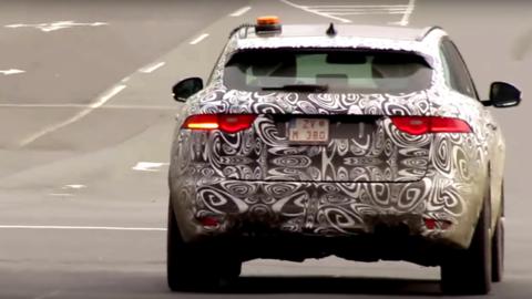 Jaguar testuje nové športové SUV na Slovensku