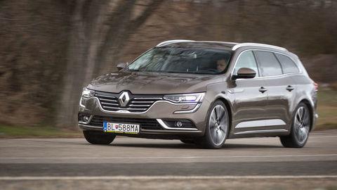 Renault Talisman Grandtour 1,6 dCi: Podvozok je citlivý na veľké kolesá