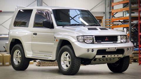 Lancer nebol jediný, Mitsubishi Pajero Evolution je veľká rarita