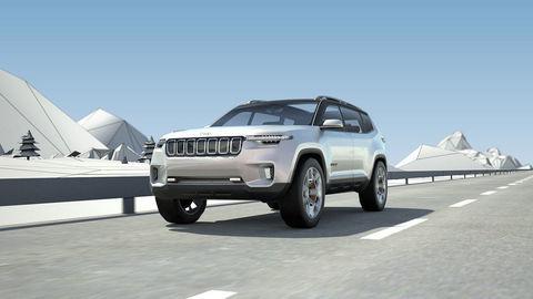 Koncept Yuntu naznačuje dizajn budúcich Jeepov
