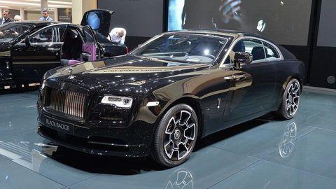 Rolls Royce Black Badge debutuje v Bratislave