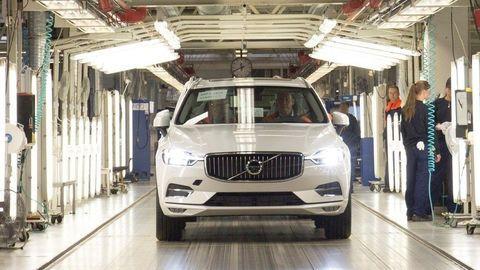Nové Volvo XC60 už začali vyrábať