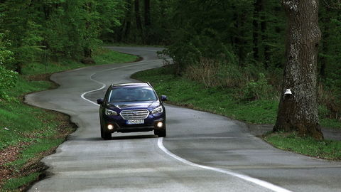 Subaru Outback 2,5i Lineartronic: S benzínom jazdí lahodne