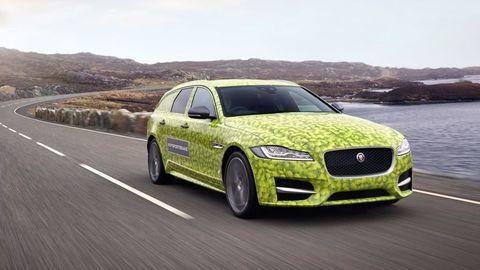 Luxusné kombi Jaguar XF Sportbrake predstavia vo Wimbledone