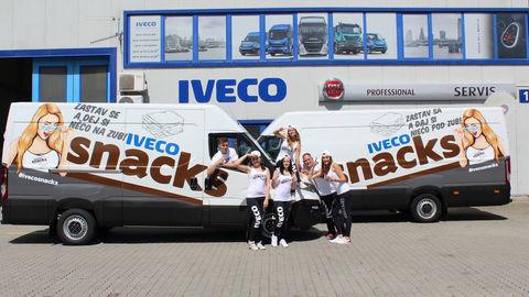 IVECO rozdáva raňajky svojim vodičom