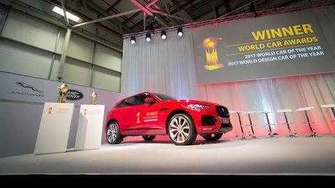 Dekorovali Svetové auto roka Jaguar F-Pace