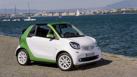 Ekologické žihadlo: smart fortwo cabrio electric drive