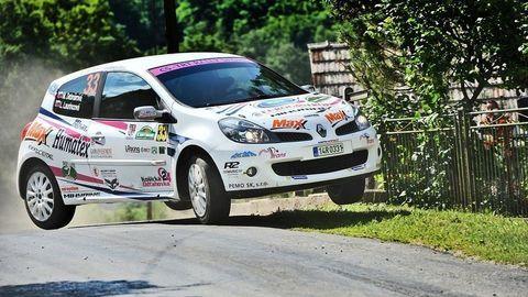 Na Rally Lubeník sa skákalo aj havarovalo, zaznamenal Daniel Hlinka
