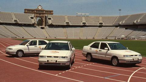 SEAT spomína na Olympiádu. K medaile dával Toledo s dreveným volantom