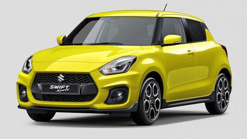 Suzuki Swift Sport na prvom obrázku: vraj má turbo a je športovejší