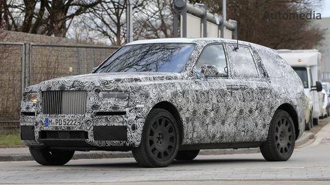 Rolls-Royce vyvíja veľké SUV