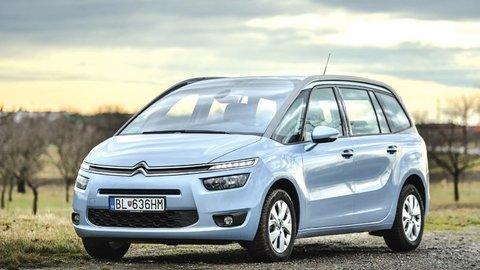 Citroën Grand C4 Picasso 1.6 e-HDi: Pohodlná jazda, úsporný motor