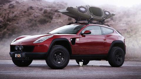 Aj Ferrari už sníva o SUV